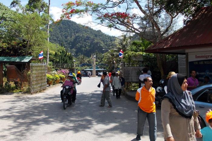 Пограничный пункт Khuandon