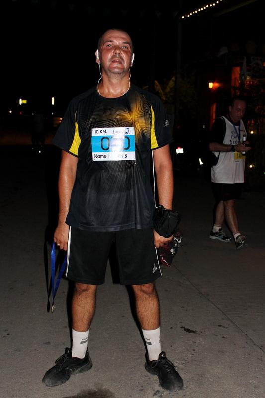 После финиша Samui Midnight Run