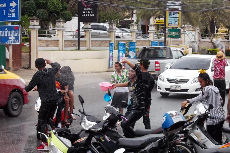 Сонгран -Таиланд - Самуи