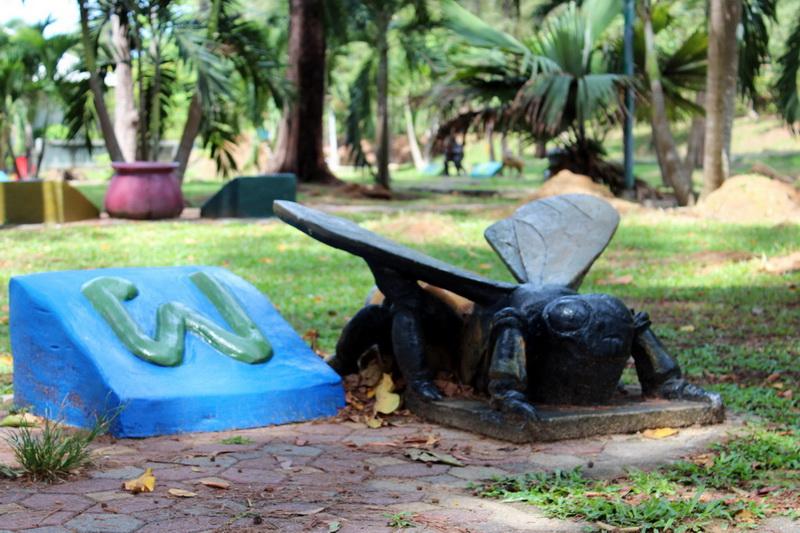 Алфавит-парк в Краби. Мутант
