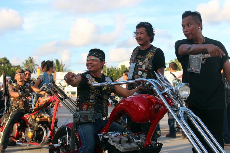 Байкеры на Samui Bike Week 2013