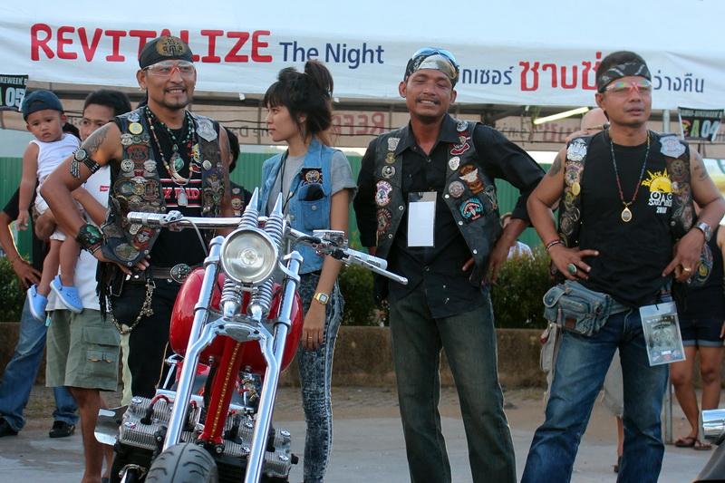 На Samui Bike Week 2013