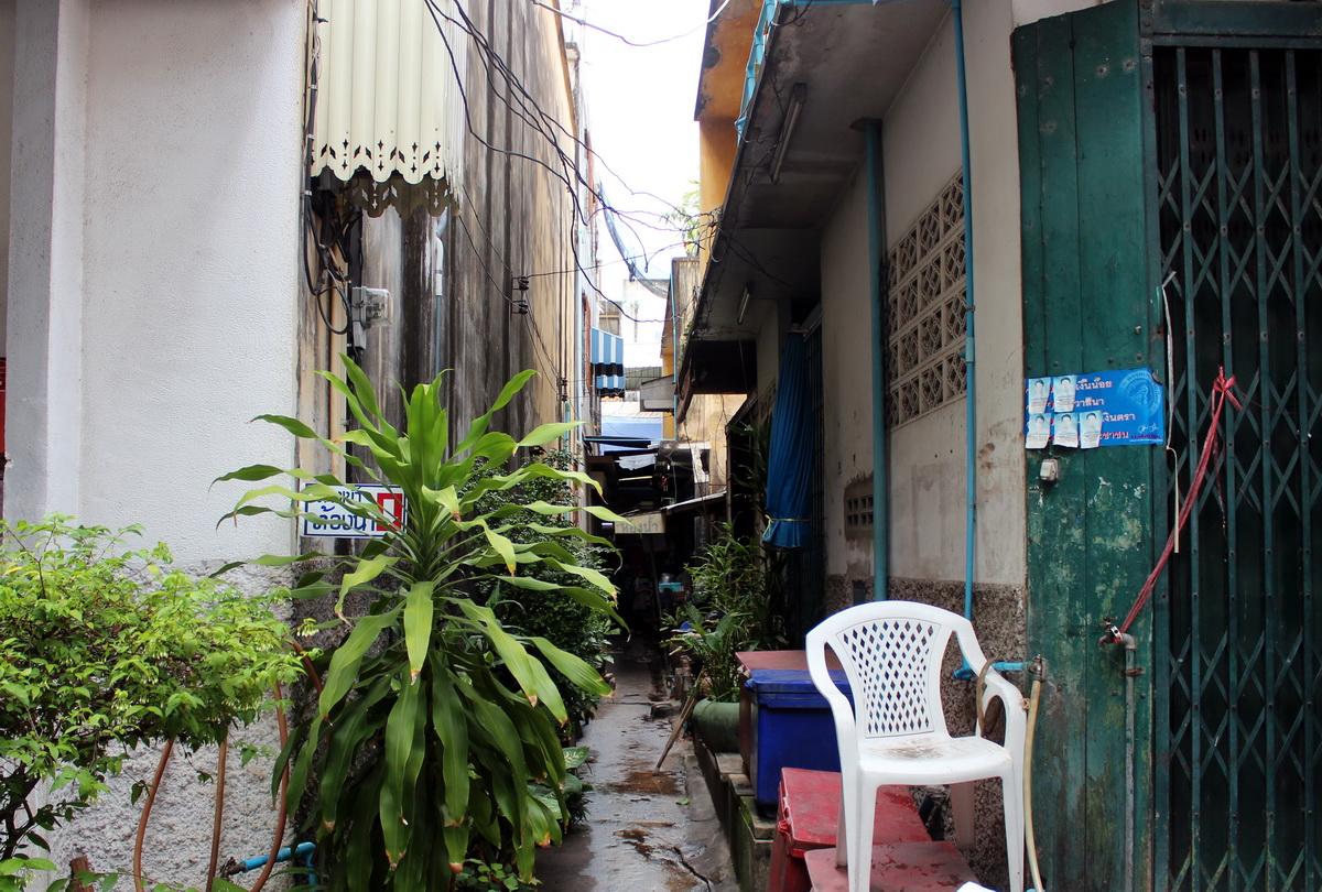 Переулок в Хуахине