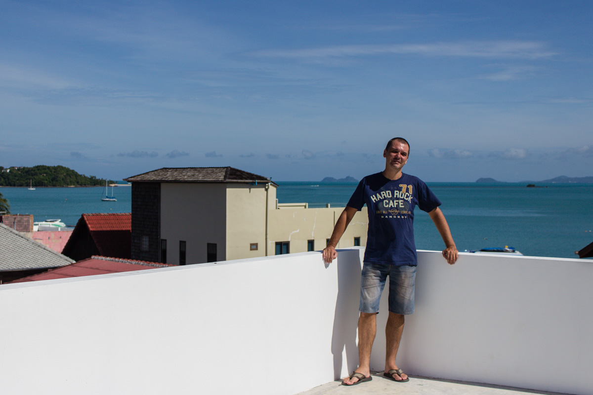 Я на крыше