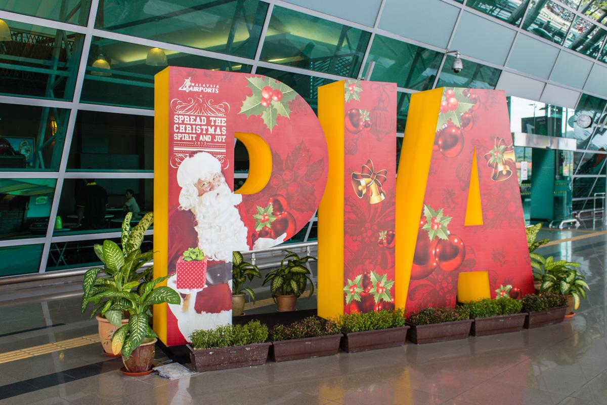 В аэропорту Пенанга