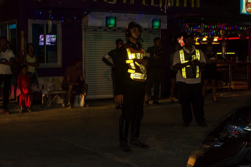 Полиция на дистанции