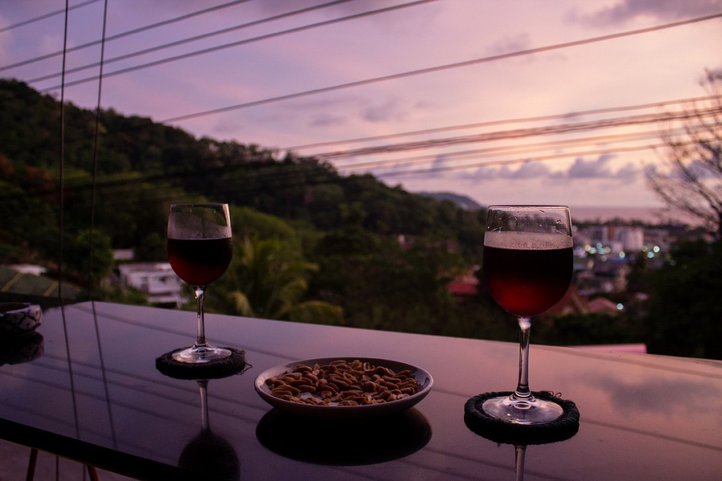 Вино с видом
