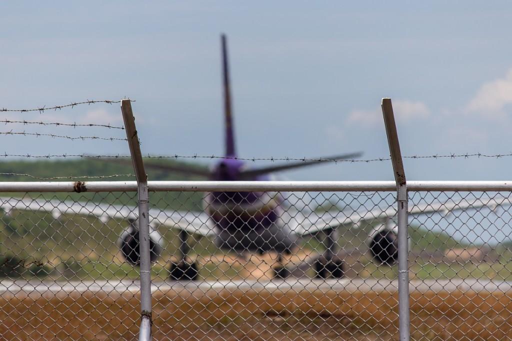 A330 Thai Airways готовится к взлету