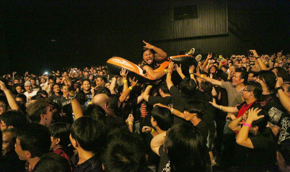 На концерте Children of Bodom