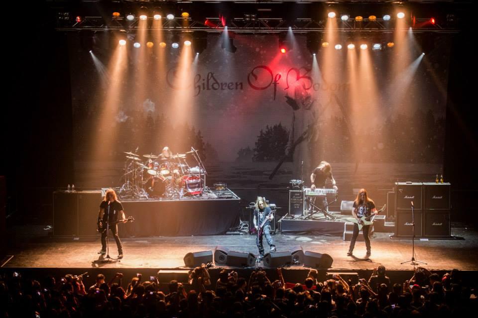 Children of Bodom на сцене