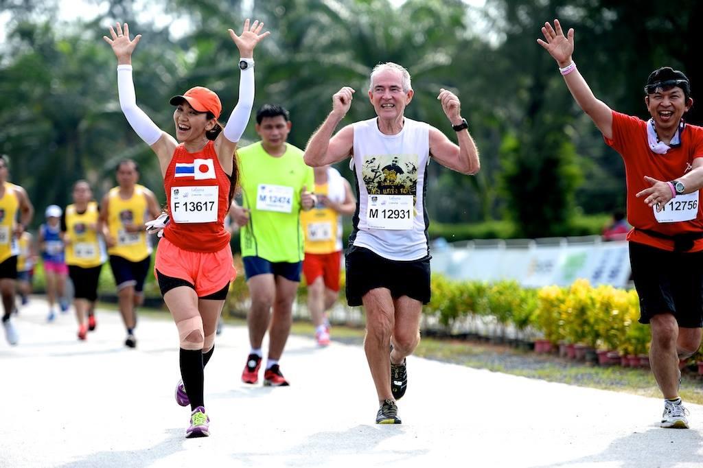 Участники марафона