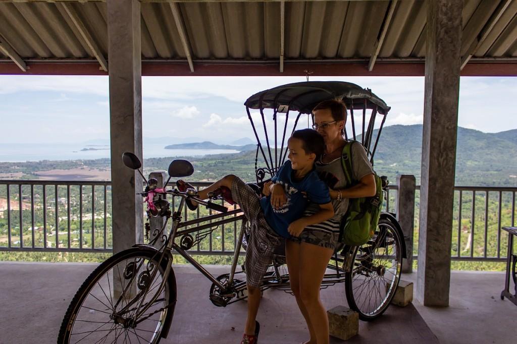 Арсений и велосипед