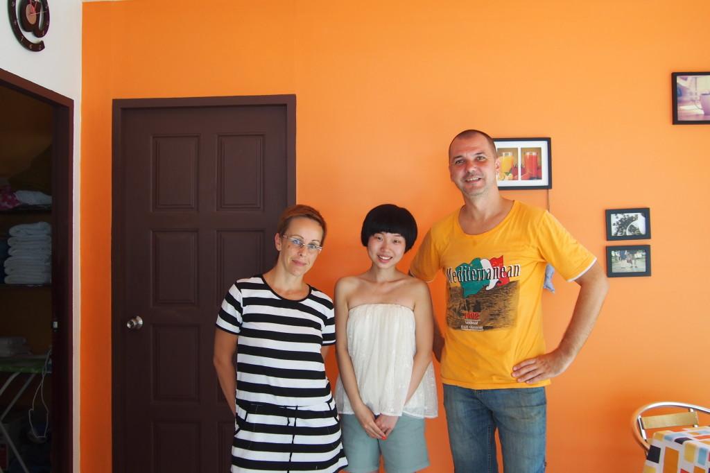 Мы с клиенткой из Китая