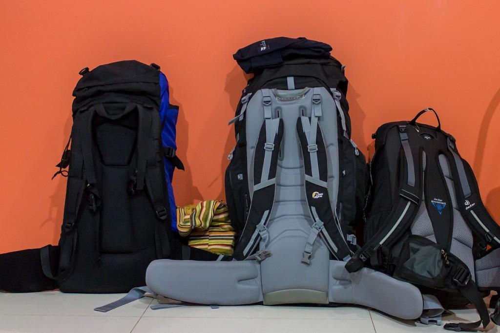 Рюкзаки на ресепшн