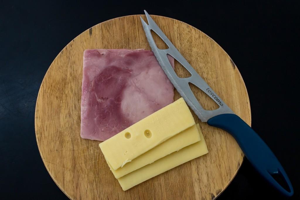 Сыр и ветчина