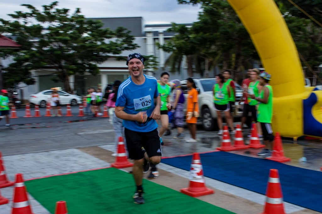 10 km finish