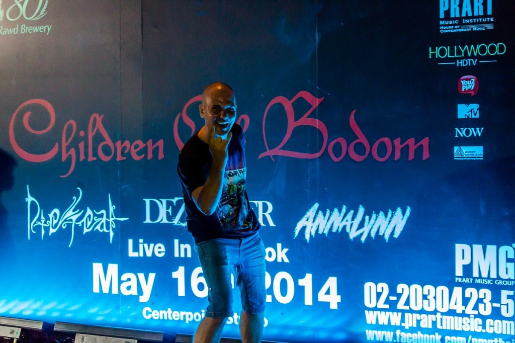 Children of Bodom Бангкок