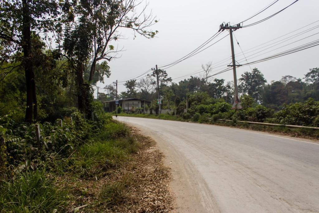 Дороги в парке Кхао Яй