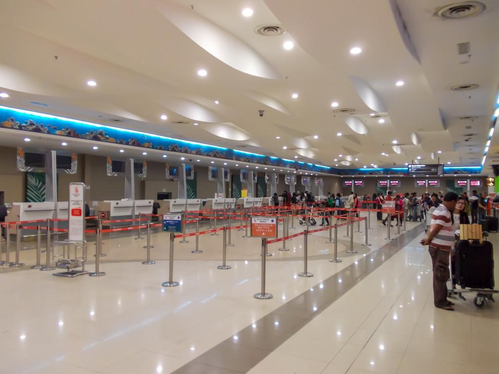 Стойки регистрации в аэропорту Пенанга