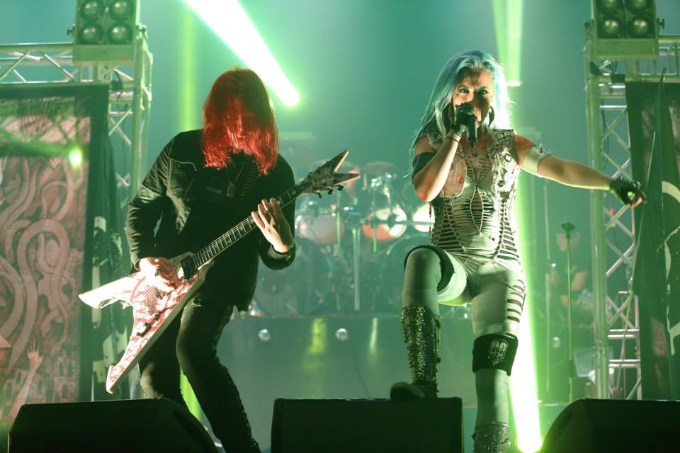 Arch Enemy live in Bkk