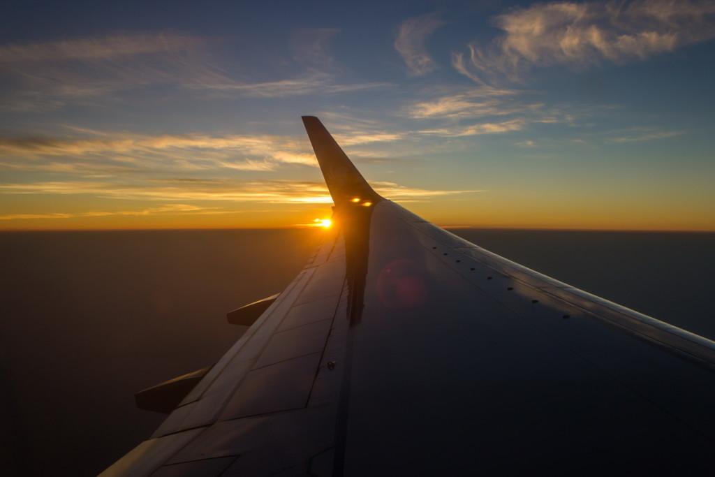 Рассвет в воздухе