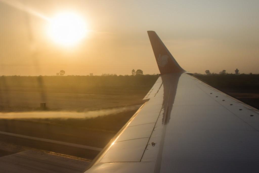 Посадка в Сураттани