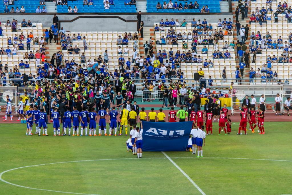 Перед началом матча