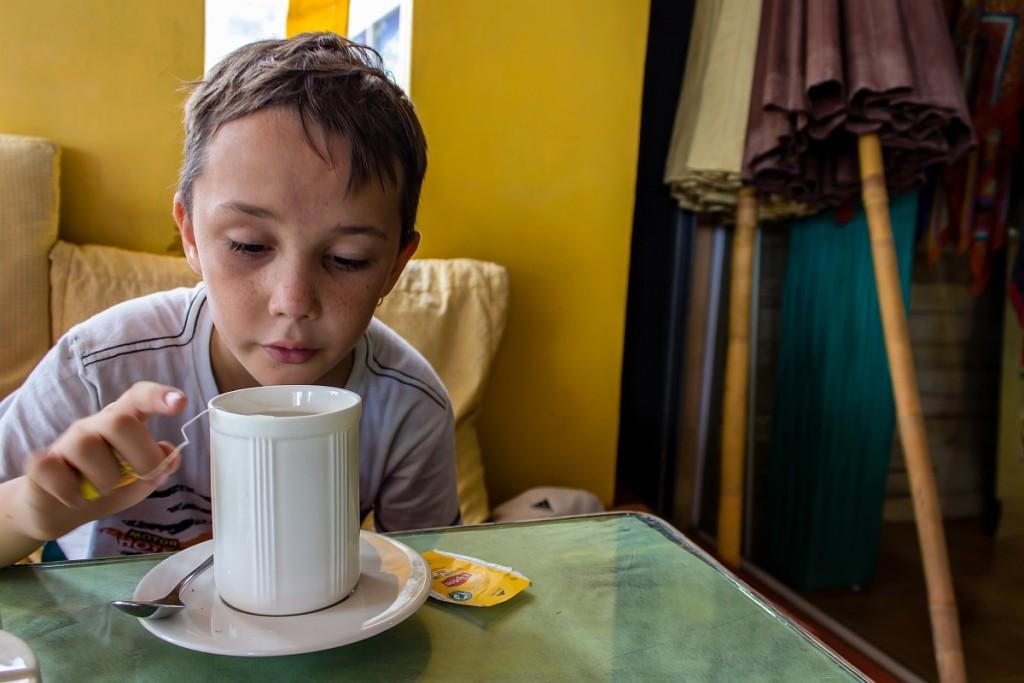 Арсений и гигантский чай